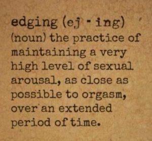 edging 101